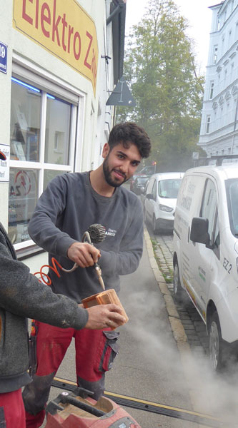 Elektro Zanker Augsburg Auszubildender